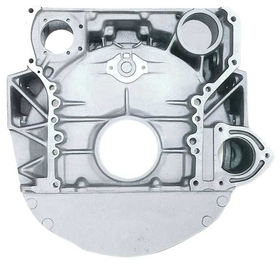 Mercedes Flywheel Housing