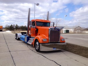 Orange Truck rig