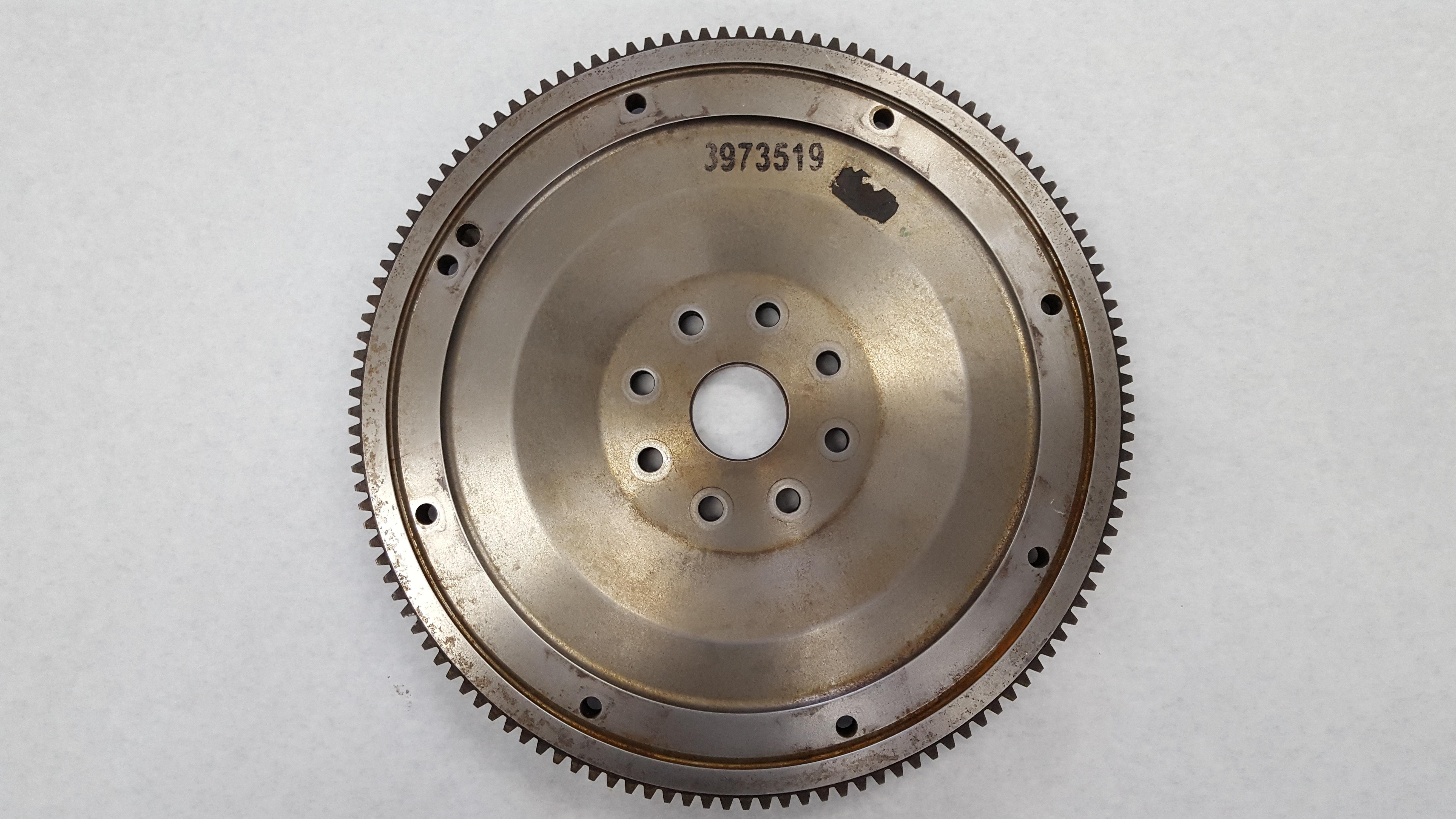 3973519 Cummins Flywheel Front View