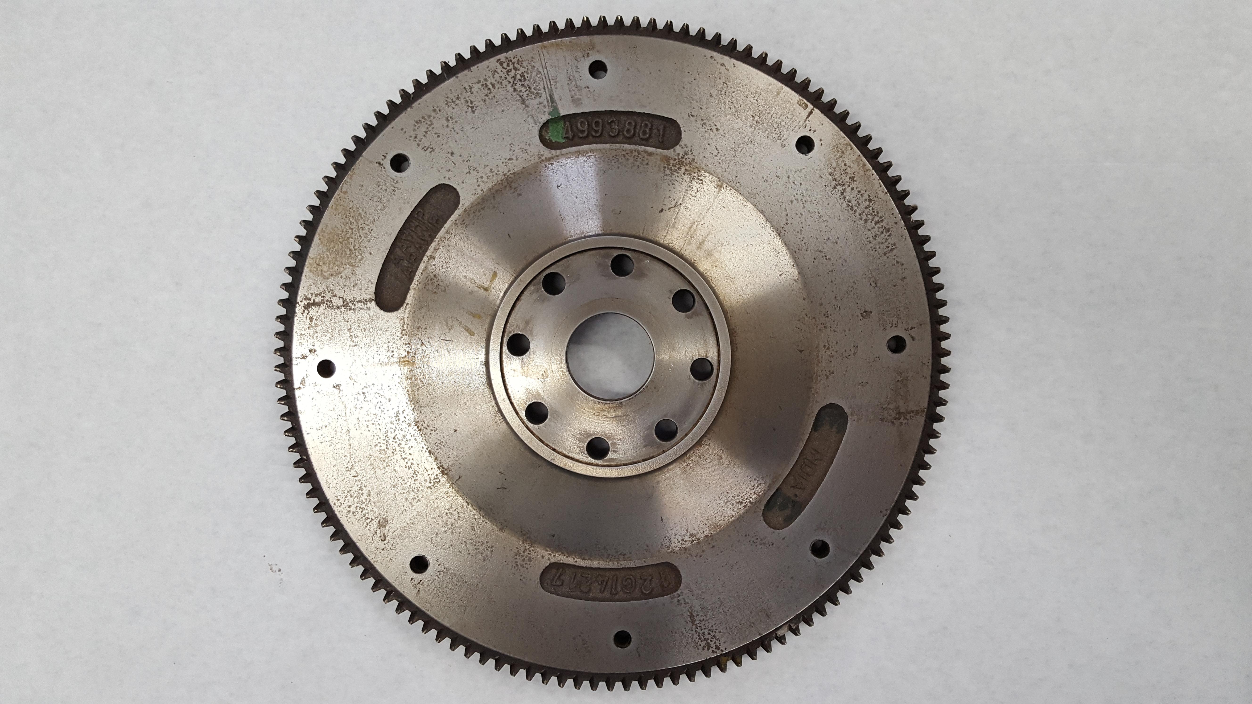 3973519 Cummins Flywheel Rear View