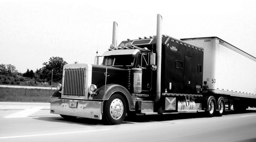 truck bw