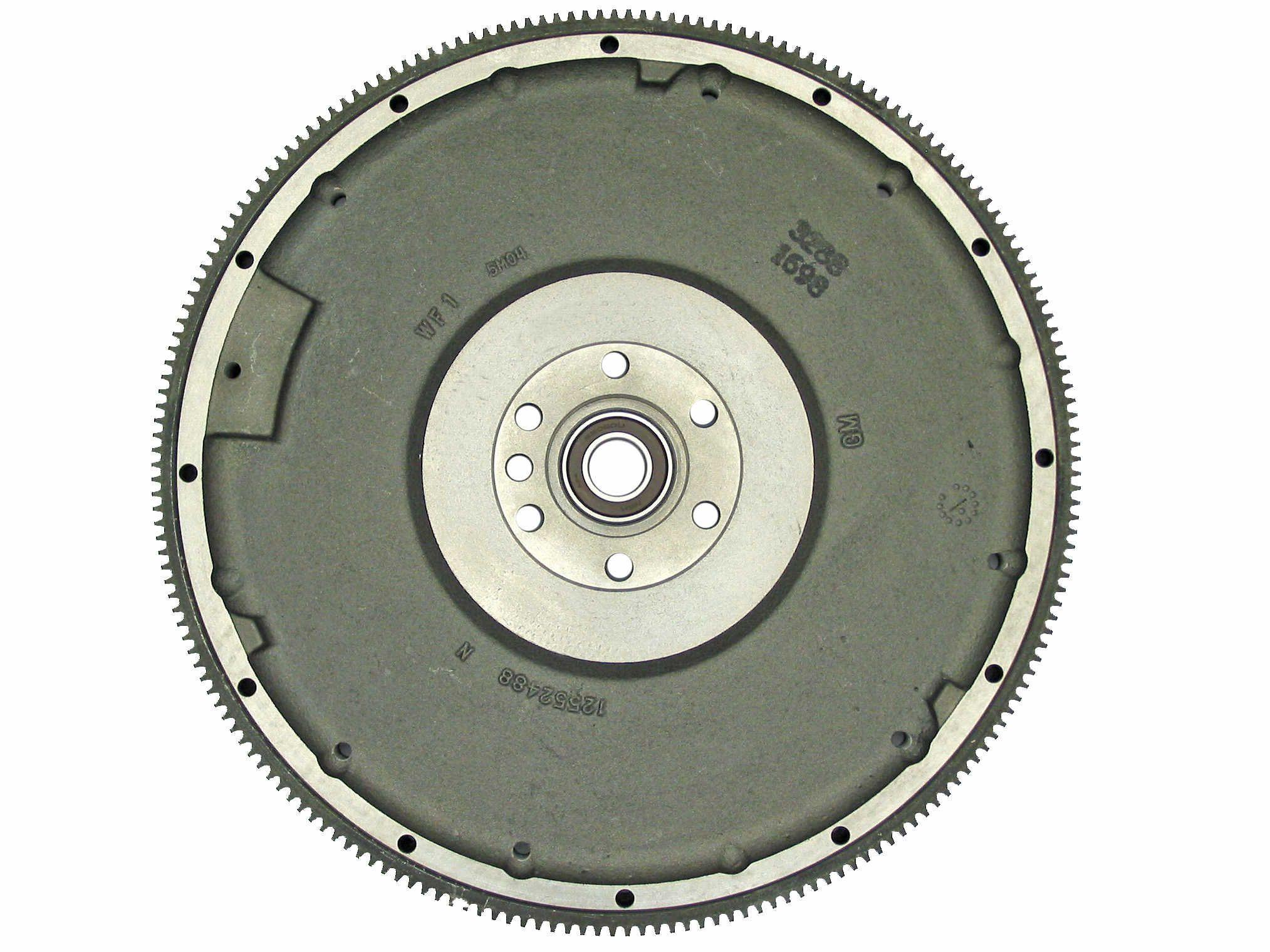 12552486 GM Medium Duty Flywheel Rear View