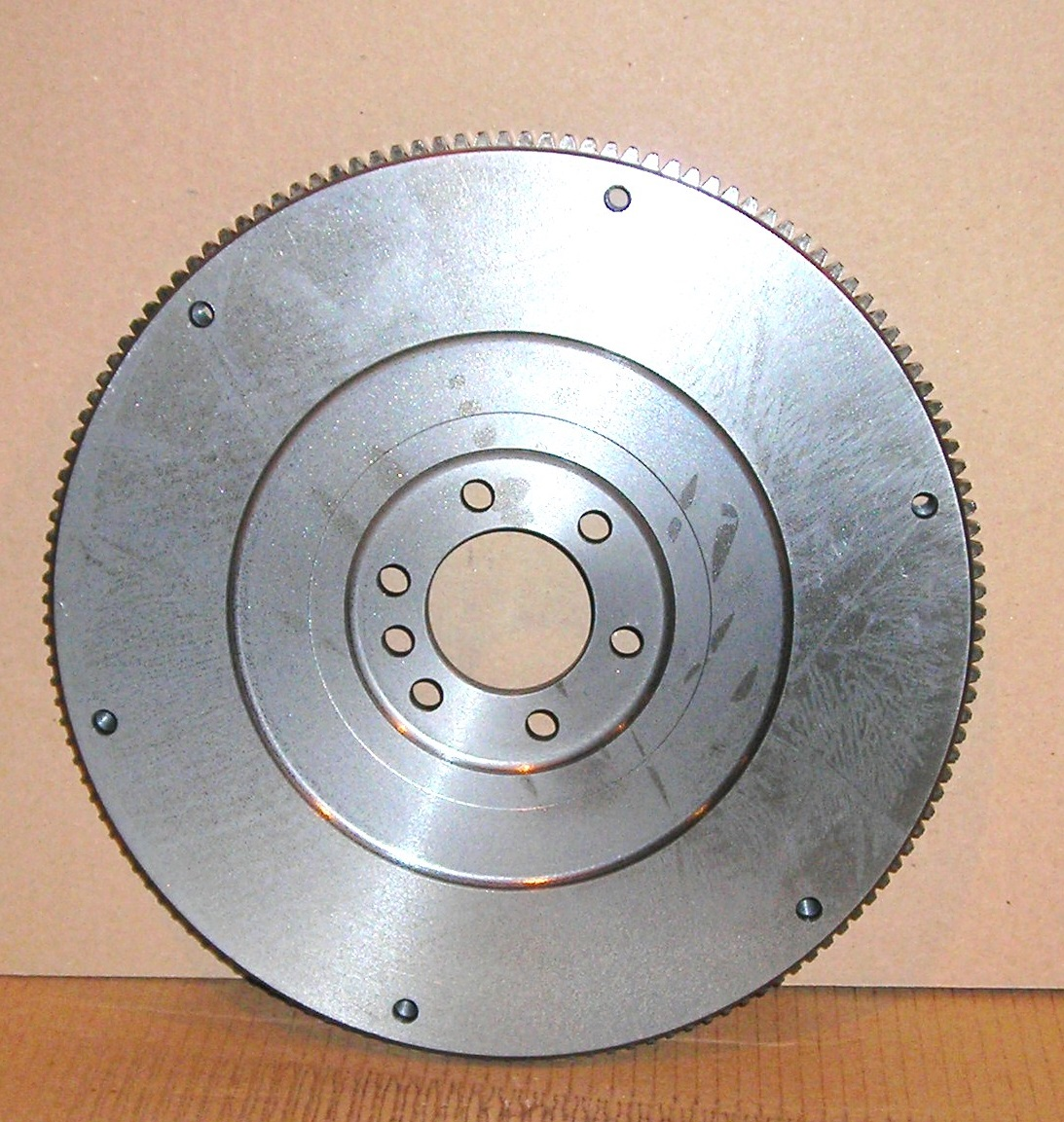 12556799 GM Medium Duty Flywheel Front View - fixed