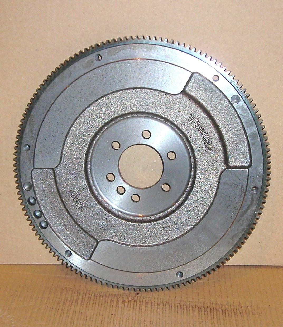 12556799 GM Medium Duty Flywheel Rear View - fixed