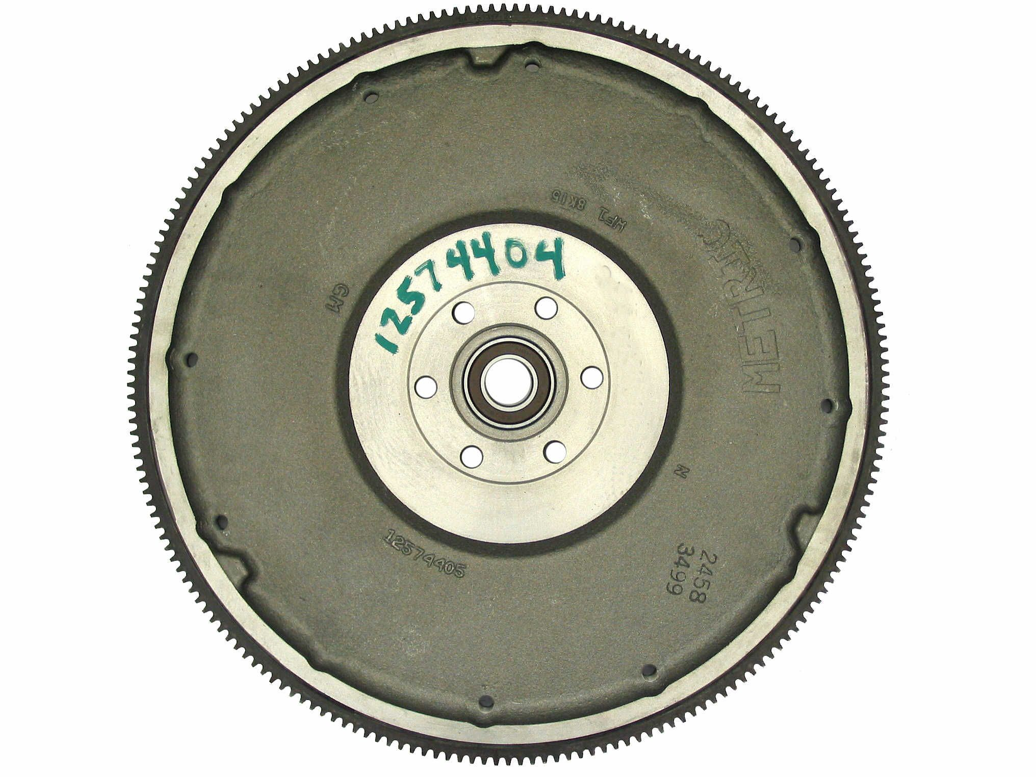 12574405 GM Medium Duty Flywheel Rear View