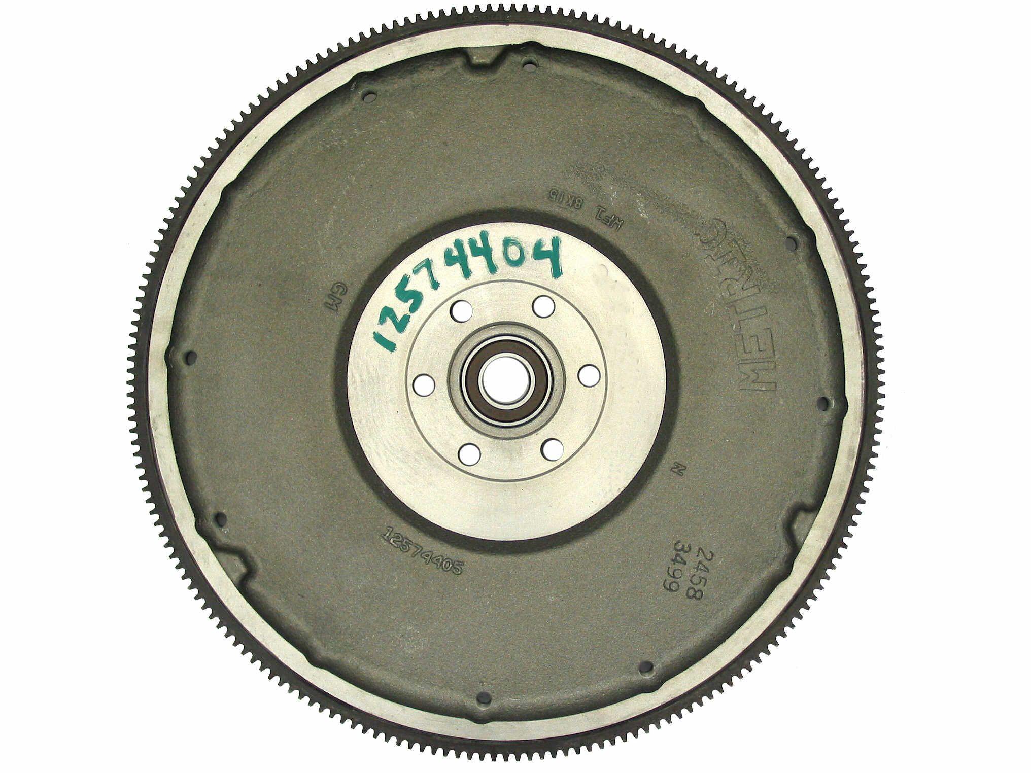 12574405 GM Medium Duty Flywheel Rear View
