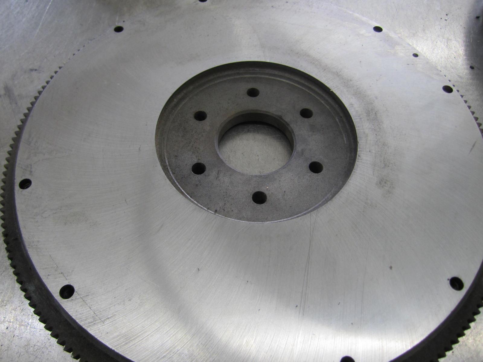 D2TE6380CA Ford Flywheel Front View