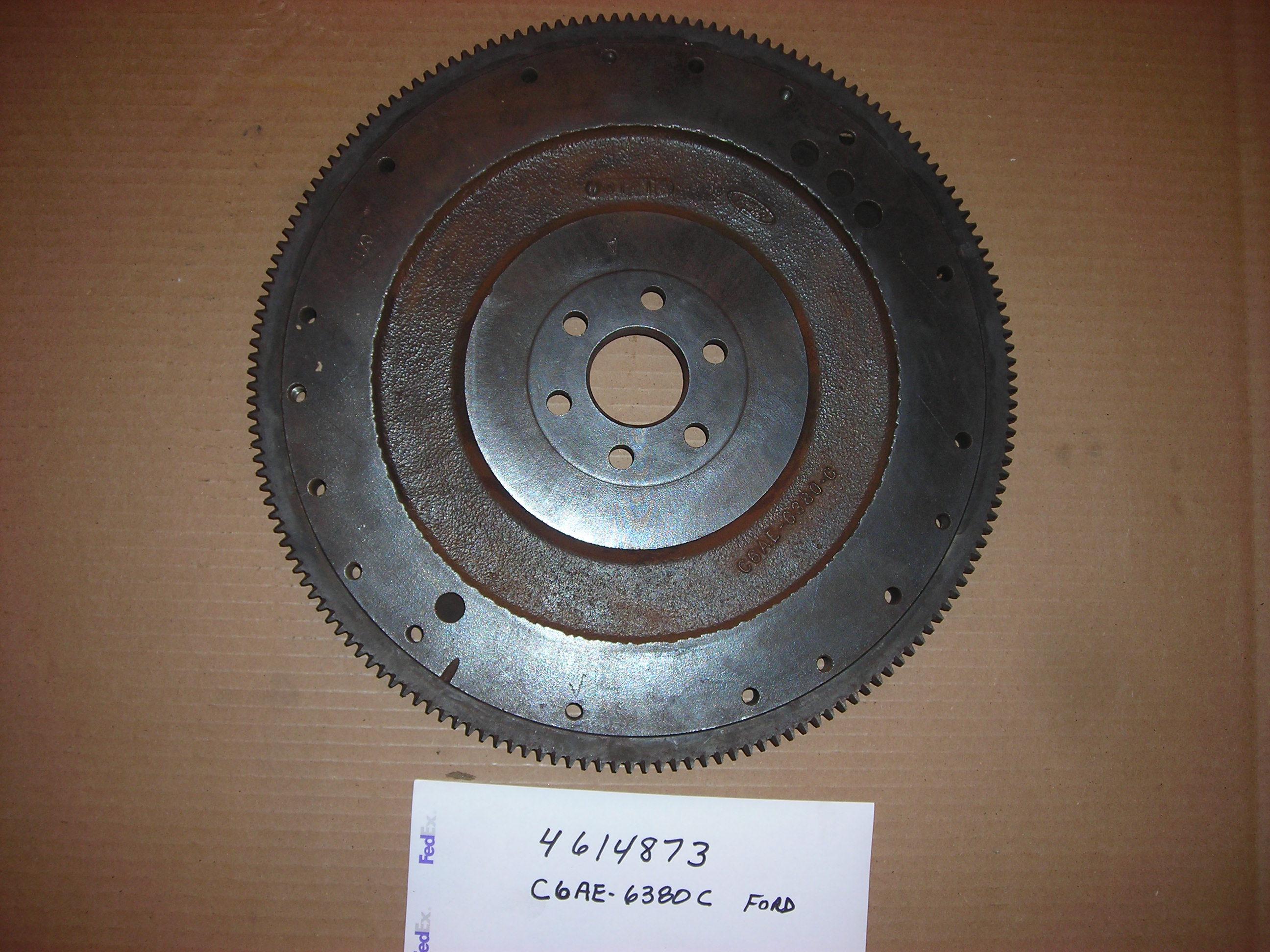 C6AE6380C Ford Flywheel Rear
