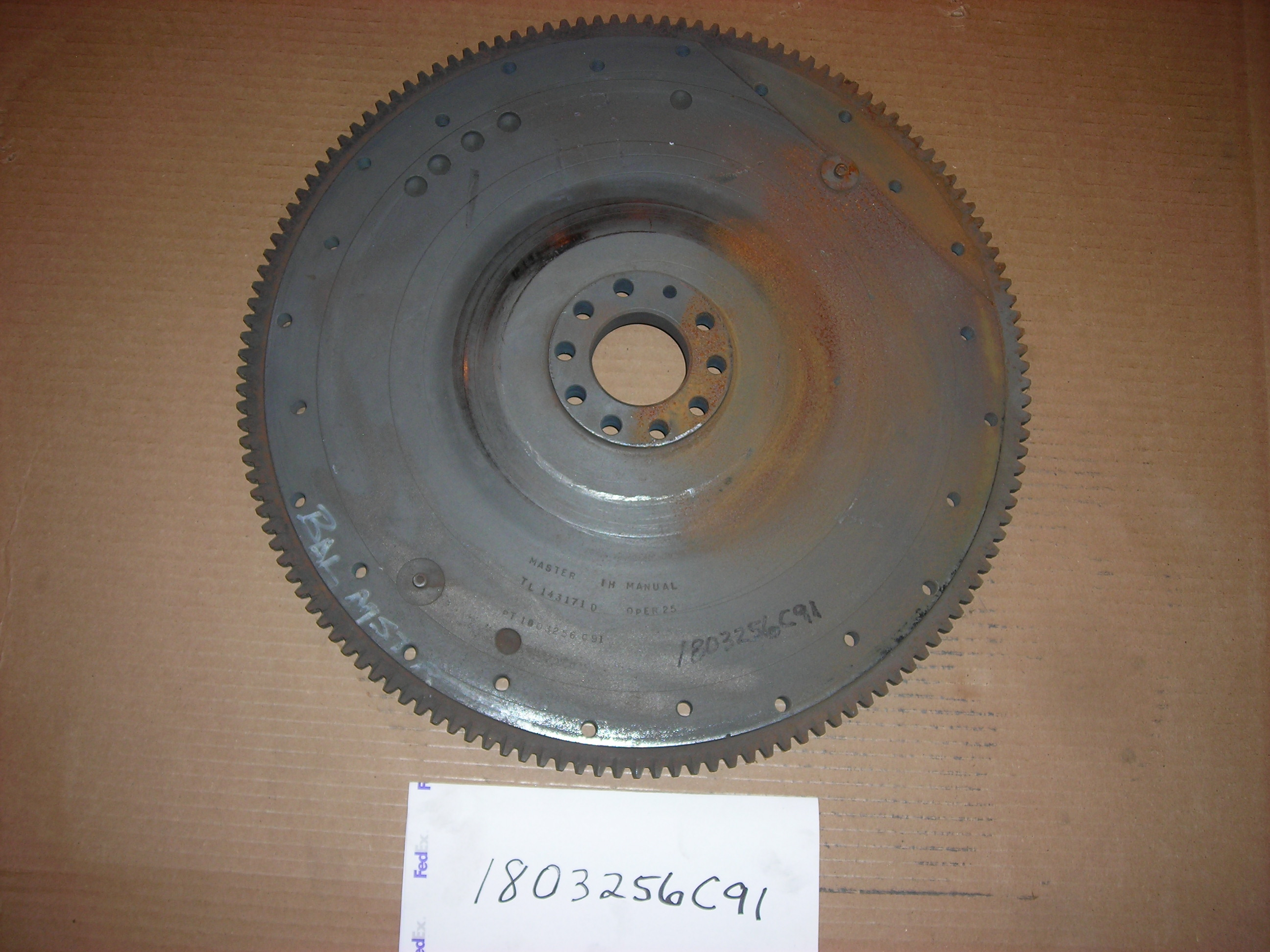 1803256C91 Navistar International Flywheel Rear