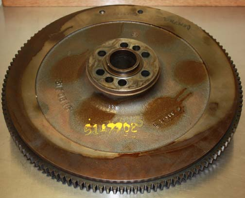 5147702 Detroit MTU Flywheel Rear View