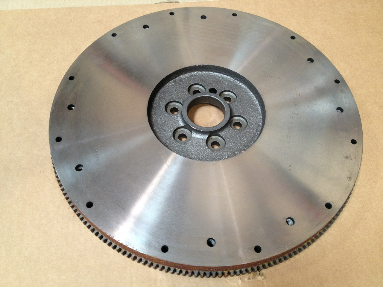 101101167 GM Flywheel Front View