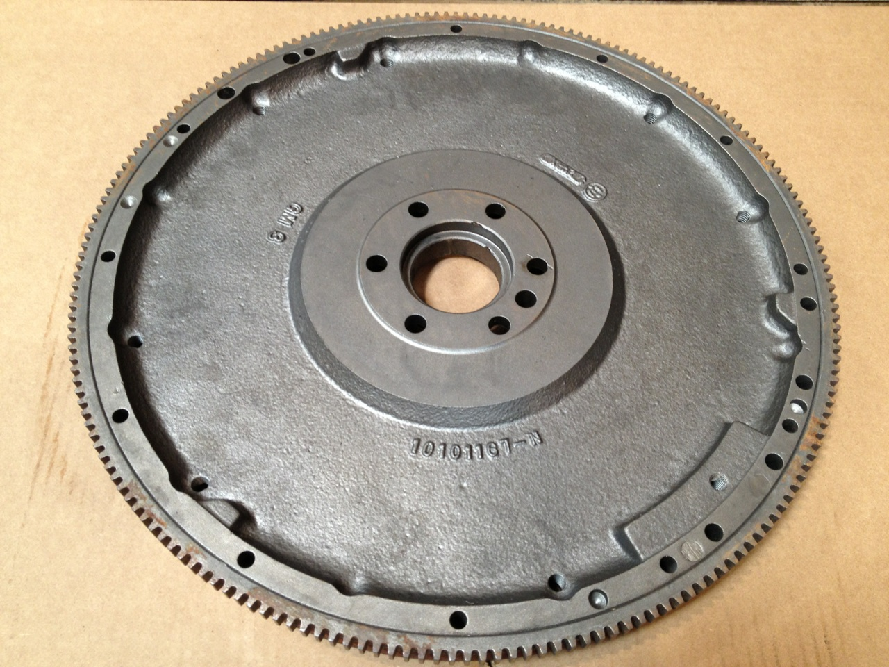 101101167 GM Flywheel Rear View