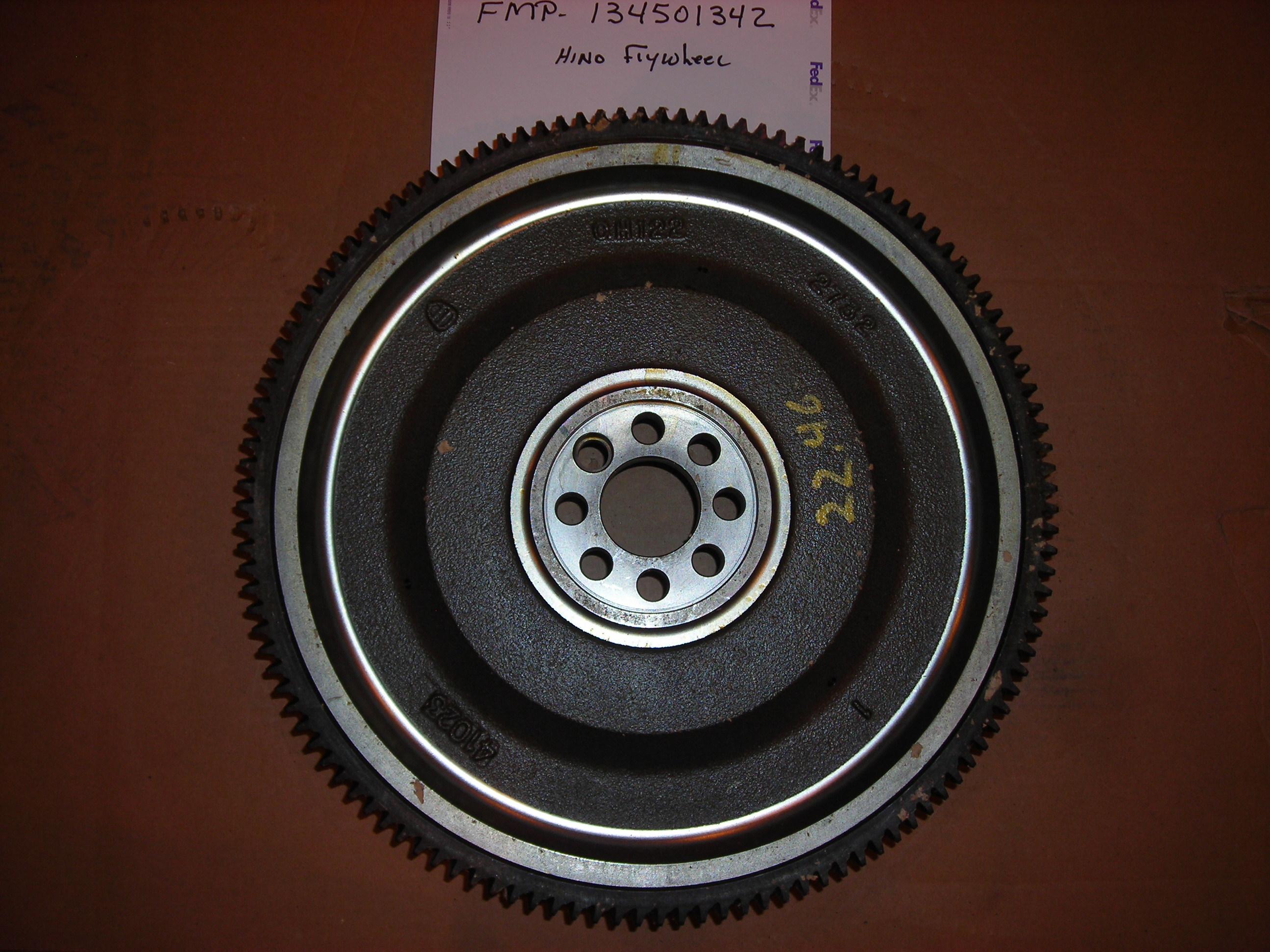 134501342 Hino Flywheel Rear