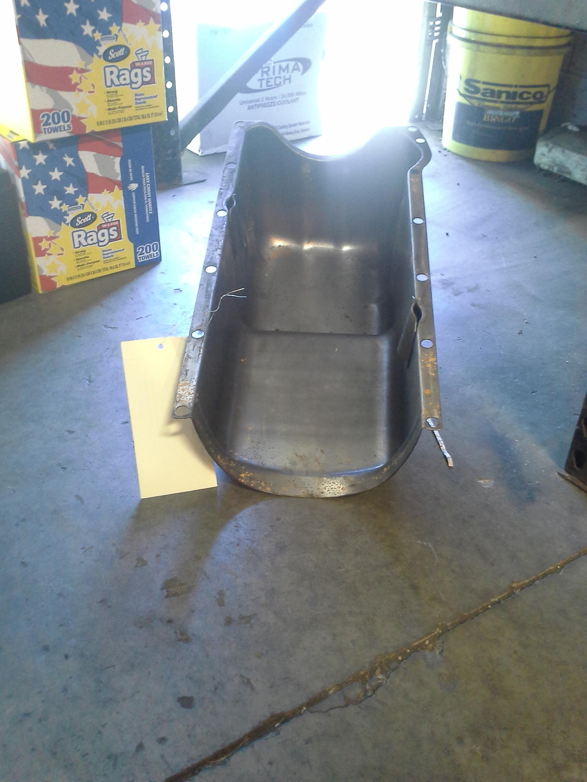 20121011 GM Detroit MTU Oil Pan